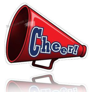 Cheerleading-Megaphone-Shaped-Car-Magnet-SZ158158